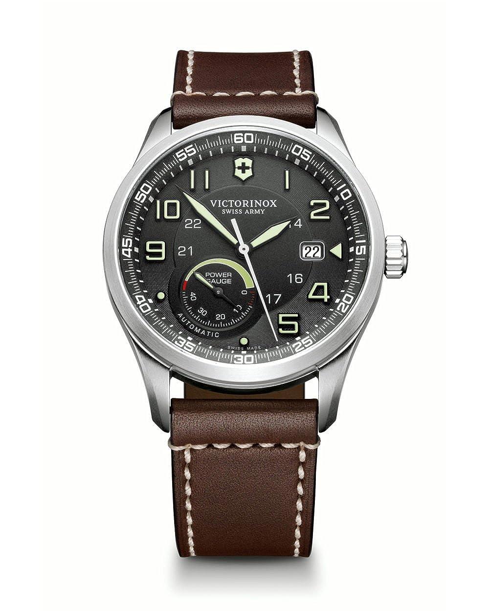 [ビクトリノックス]VICTORINOX 腕時計 メンズ エアボス AIRBOSS メカニカル パワーゲージ 自動巻き ヴィクトリノックス スイスアーミー 241575 [正規輸入品] B00O9DXUZQ
