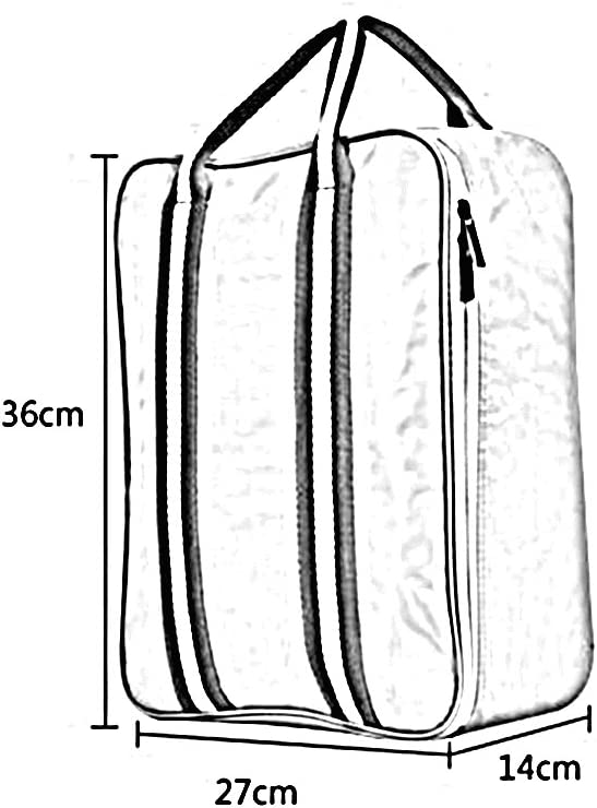 SUN Travel Bag Luggage Bag Single Shoulder Portable High Capacity On A Business Trip Home Storage Package Color : Dark blue