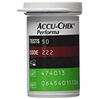 Performa 50 Test Strips Without Outer Box Expiry:30 June 2019