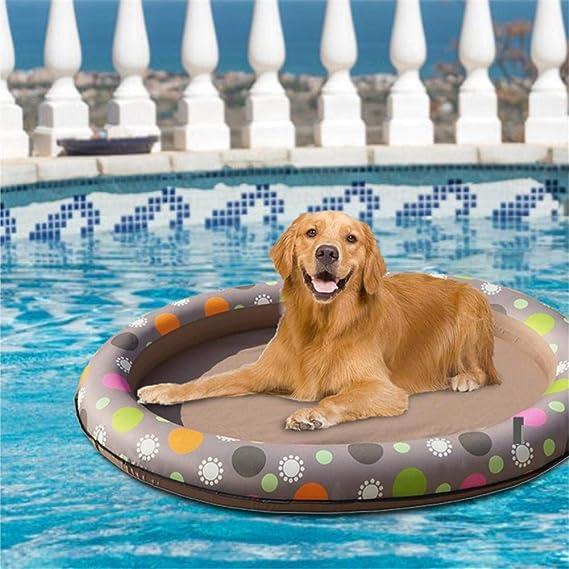 Funihut - Flotador Hinchable para Perros y Animales, para Piscina Hinchable, Piscina, Multiusos, Plegable, Flotante: Amazon.es: Productos para mascotas