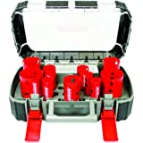 Diablo DHS14SGP Diablo 14 Piece High Performance Hole Saw Set For Drilling Wood, Plastic, Aluminum, Metal Stainless Steel