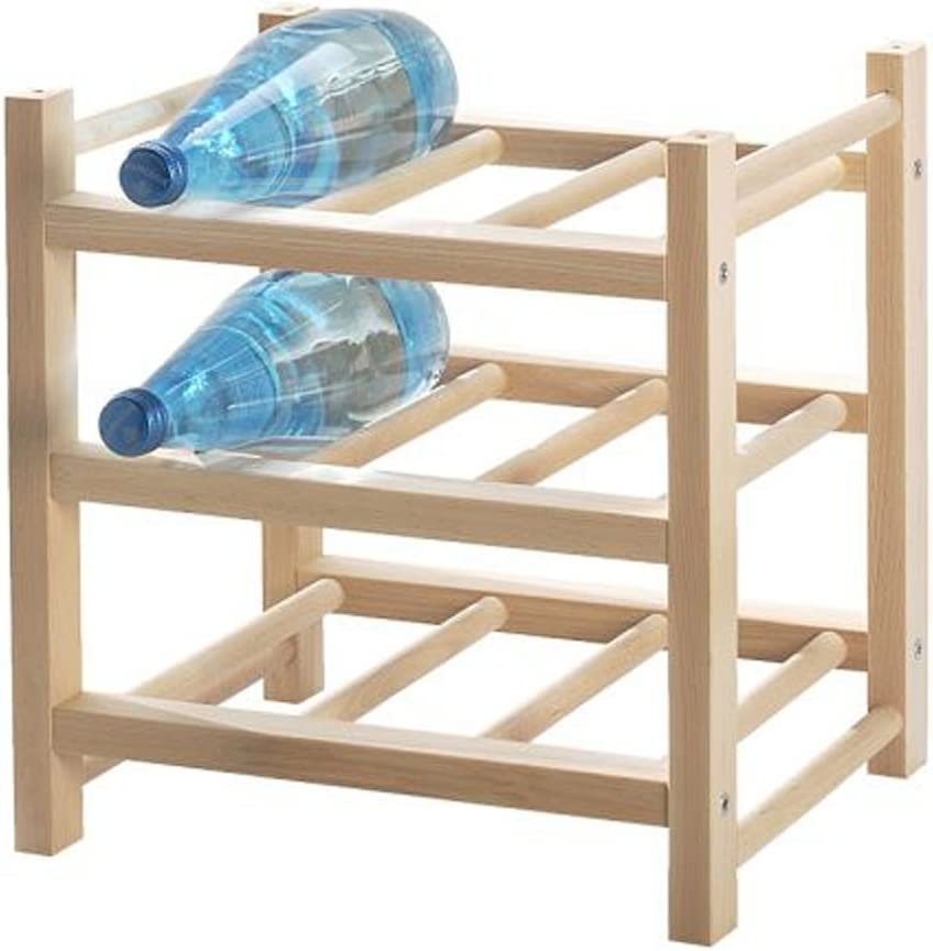 IKEA HUTTEN 9 botellas de vino/estante de botellas para: Amazon.es: Hogar