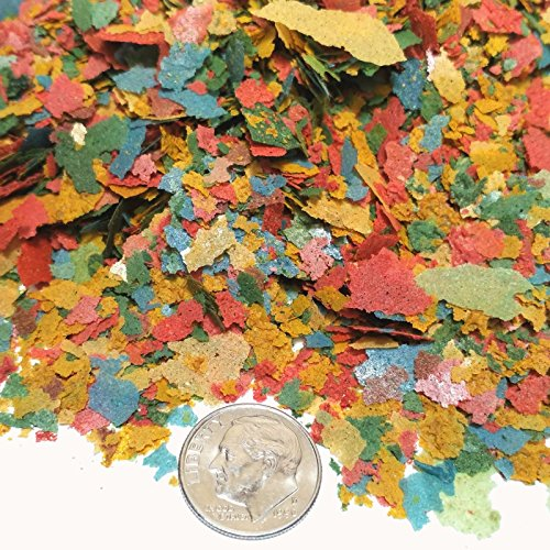 AFI Guppy Flakes, Aquatic Foods Premium Tropical Fish small Flakes 1 lb