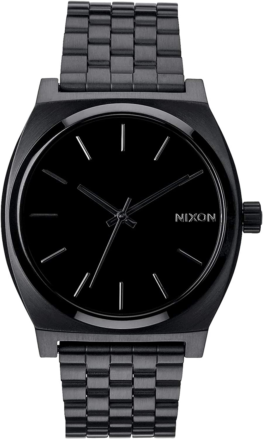 Nixon Time Teller A045. 100m Water Resistant Watch 37mm Stainless Steel Watch Face