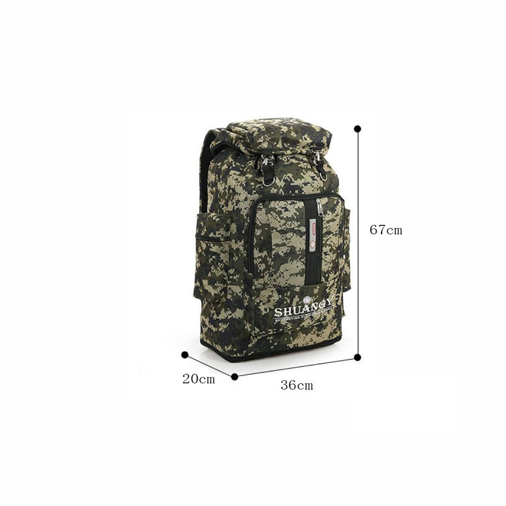 7849e7fe8994 Amazon.com : YaXuan Outdoor mountaineering backpack camouflage bag ...