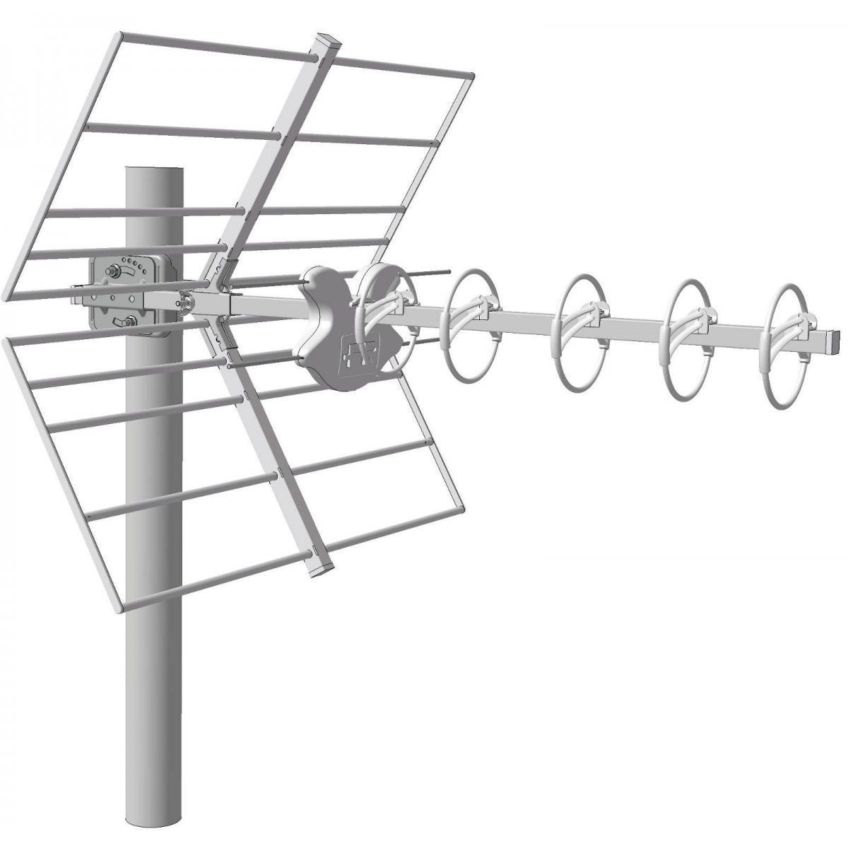 Fracarro Antenne UHF ALPHA 5HD LTE+ 213221