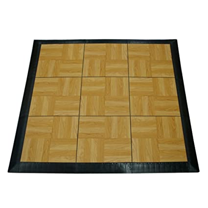 floor oak tiles hardwood dance portable are