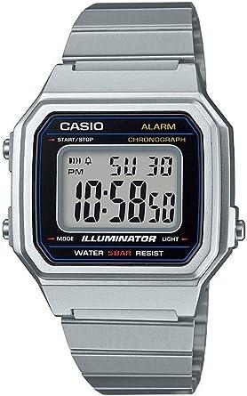 Casio Reloj Digital para Hombre de Cuarzo con Correa en Acero ...