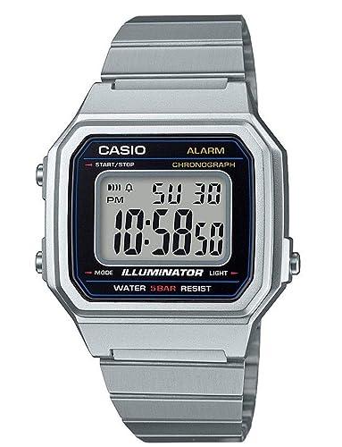 Casio Reloj Digital para Hombre de Cuarzo con Correa en Acero Inoxidable B650WD-1AEF: Amazon.es: Relojes