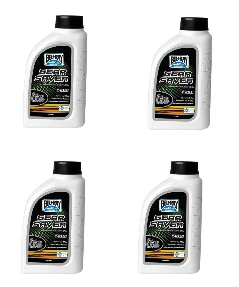 BEL-RAY GEAR SAVER TRANSMISSION OIL 75W (1L), Manufacturer: BEL-RAY, Manufacturer Part Number: 99240-B1LW (4)