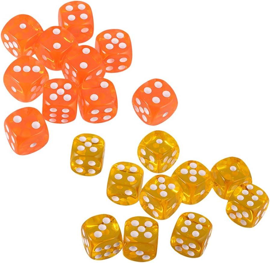 20 Pack of Dice Game para Juegos de Mesa, Juguete para Niños ...