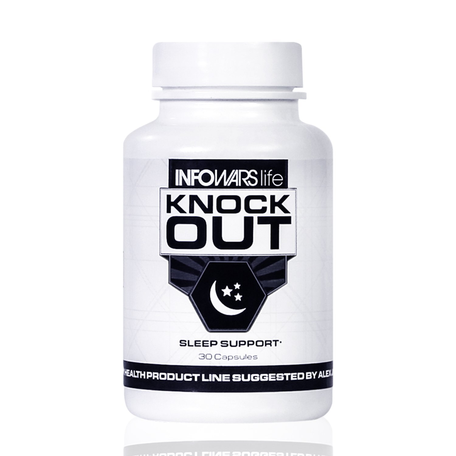 Knockout Sleep Support (30 Capsules) – Natural Sleep Aid with Melatonin, Valerian, Chamomile & More – Non Habit Forming Sleeping Pills to Fall Asleep & Stay Asleep