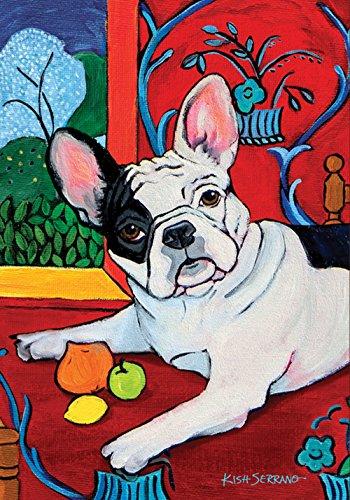 Toland Home Garden Muttisse French Bulldog 12.5 x 18 Inch De