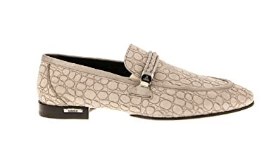 d215557c9f Image Unavailable. Image not available for. Color  Loriblu 6016 Beige Suede  Men s Italian Designer Shoes