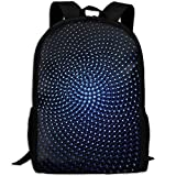 Markui Adult Travel Hiking Laptop Backpack Light Point Picture School Multipurpose Durable Daypacks Zipper Bags Fashion