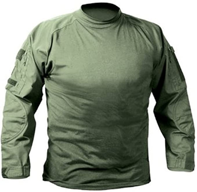 Amazon.com  Rothco Military Combat Shirt Olive Drab - Medium  Sports ... 3d8402ae05d