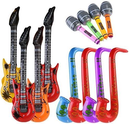 VOYAGO Hinchable Prop, Hinchable Guitarra Instrumentos Musicales ...