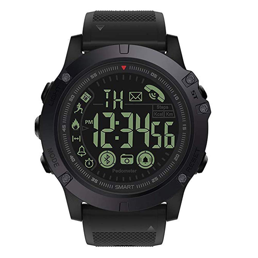 Clothing, Shoes & Accessories Military Grade Super Tough Smart Watch Waterproof Sports Talking Watch T1 Tact Cell Phones & Accessories