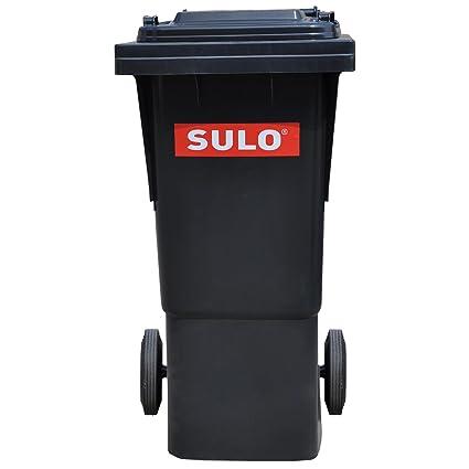 Wilai GmbH Cubo de Basura 2 Ruedas, contenedor a Basura SULO 60 litros (20072