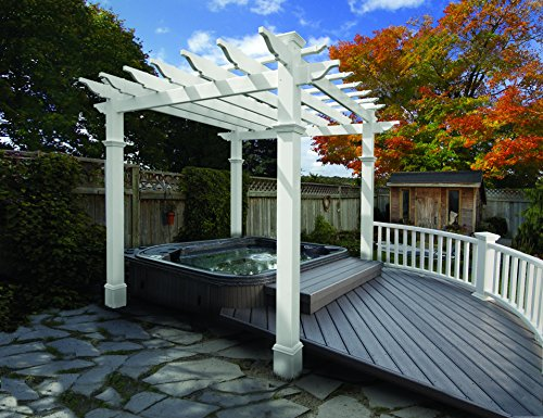 New England Arbors Liberty Pergola product image