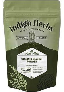 Natures Root Brahmi en polvo orgánico - Hierbas ayurvédicas ...
