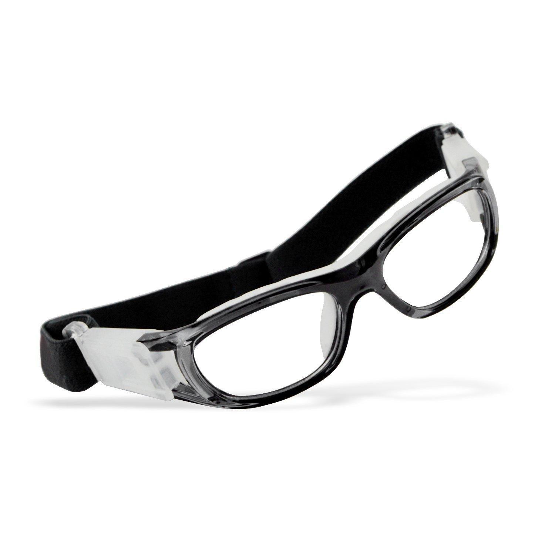 39c76f02dda3 Elemart (TM ) Unisex Kids Sport Glasses Anti-fog Protective Safety Goggles  w   Adjustable Strap for Basketball Football Hockey Rugby Baseball ...