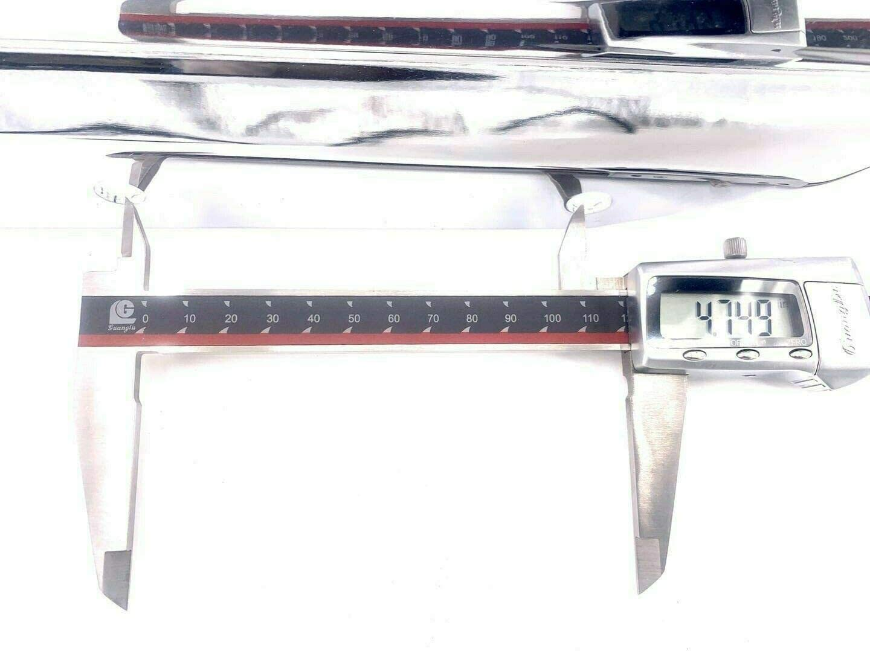 MyLohas Chrome Backrest and Sissy Bar Luggage Rack for Honda VTX1300 N//R//S 03 04 05 06