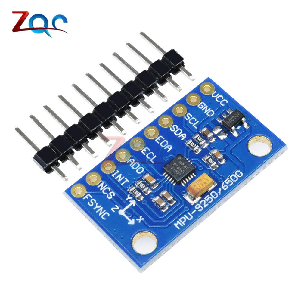 IIC I2C SPI MPU6500 MPU-6500 6-Axis Gyroscope Accelerometer Sensor Module Replace MPU6050 for Arduino with Pins GY-6500
