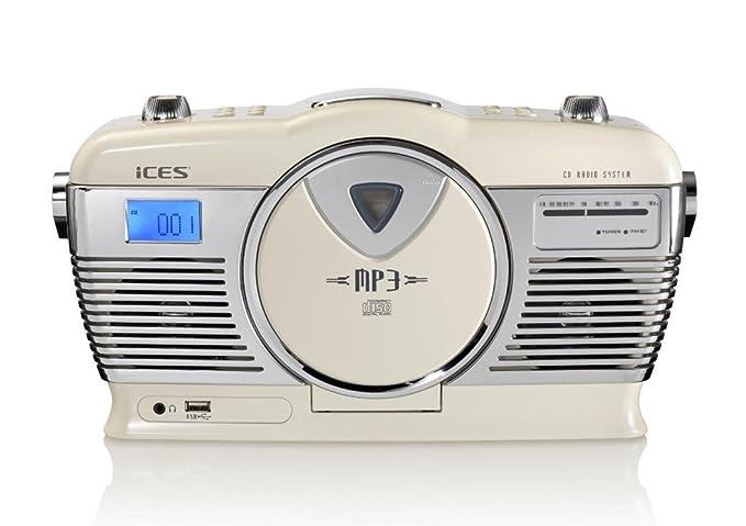 2 opinioni per Lenco ISCD-33 Digital 2W White- Portable Stereo Systems (Digital, FM, Player,