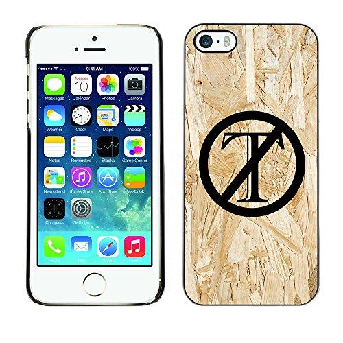 Print Motif Coque de protection Case Cover // Q04120548 Trump est en bois aggloméré // Apple iPhone 5 5S 5G