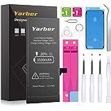 Yarber iPhone 6Plus交換バッテリー大容量 3500mAh 大容量 PSE基準 交換キット付き