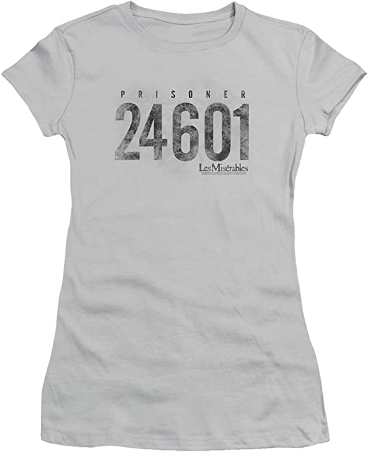 Kids // Childrens T-Shirt 24601 Prison Number 8 Colours Movie Theatre