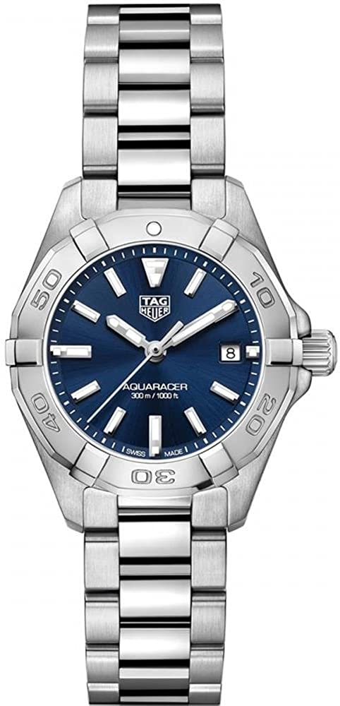 Tag Heuer Aquaracer Blue Dial Ladies Watch WBD1412.BA0741