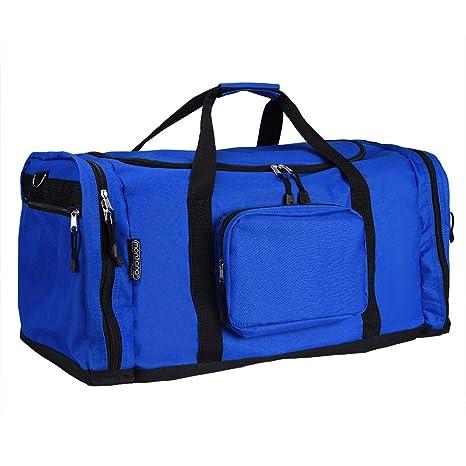 4af031024d350 Monzana® Sporttasche - 70 cm - 95 Liter Stauraum - Reistetasche Reisekoffer  Koffer Tasche blau