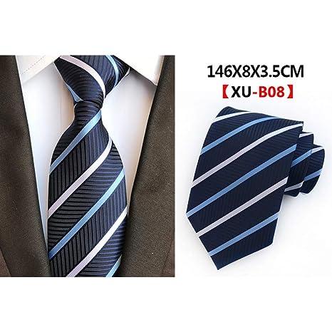 WOXHY Nuevo diseño Corbata Novio Caballero Lazos Hombres Boda ...