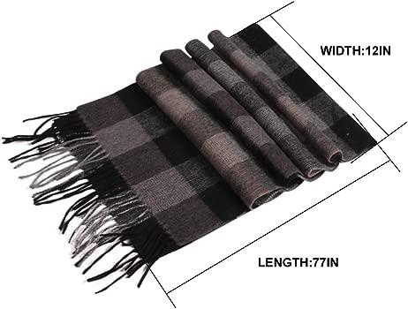 Tartan Multicolour luxury Women Winter Silk Long Large Shawl Wrap Scarf UK Gift