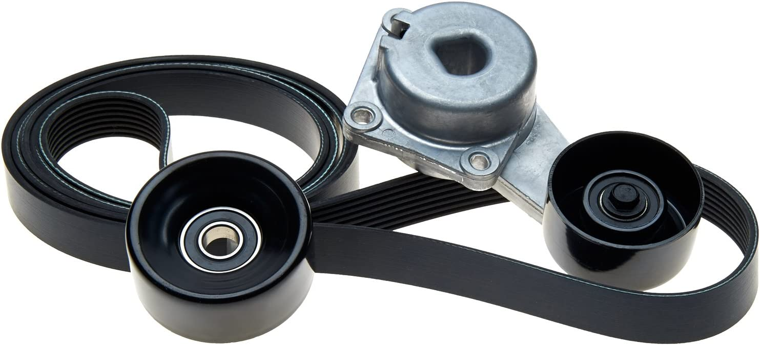 ACDelco 38191 Professional Automatic Belt Tensioner and Pulley Assembly