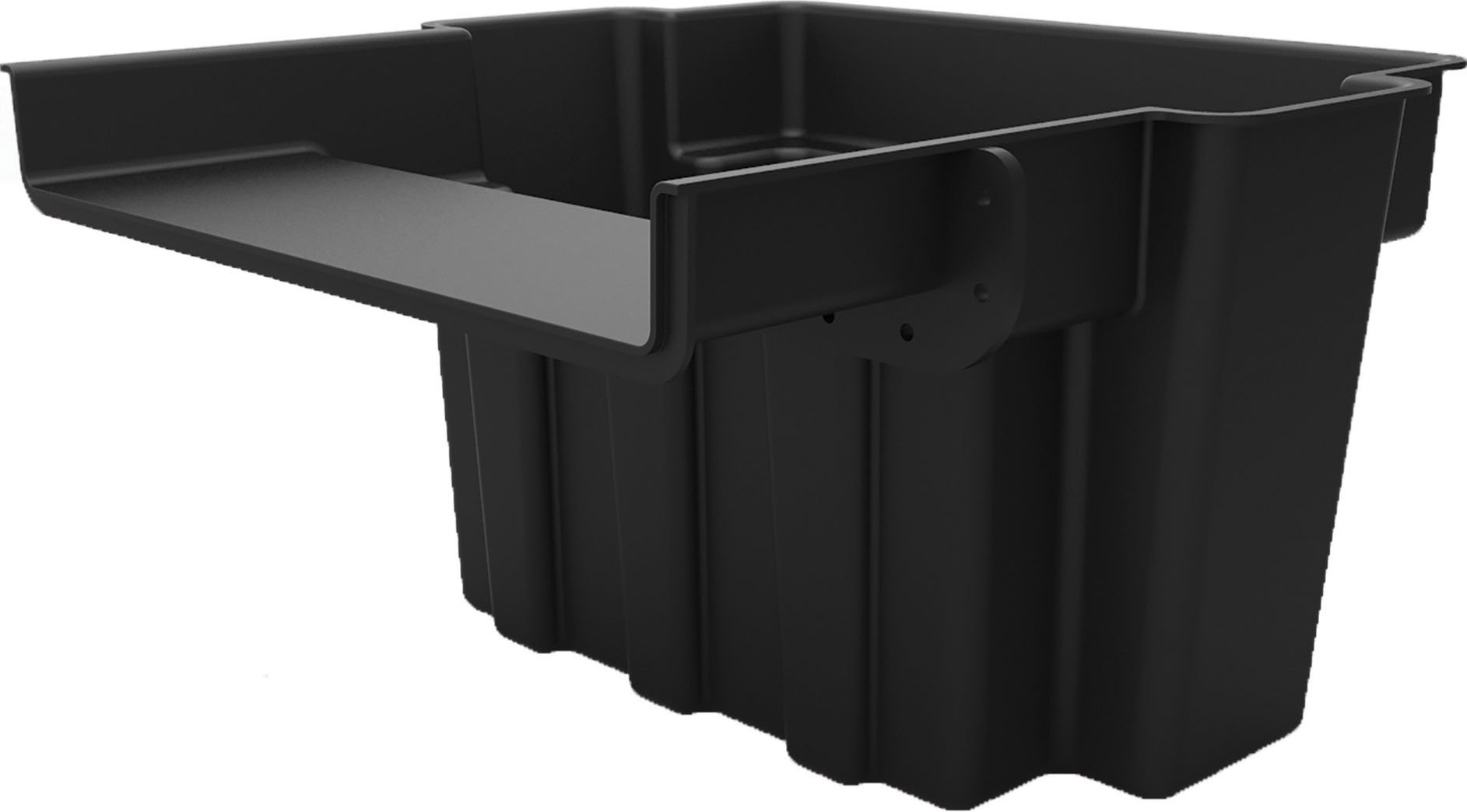 Oase-Living Water-Oase Waterfall Filter Spillway- Black 16 Inch