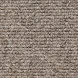 Indoor Outdoor Carpet Indoor/Outdoor Carpet with Rubber Marine Backing - Brown 6' x 15' - Several Sizes Available - Carpet Flooring for Patio, Porch, Deck, Boat, Basement or Garage