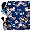 Officially Licensed NFL Co-Branded Disney's Mickey Hugger and Fleece Throw Blanket Set