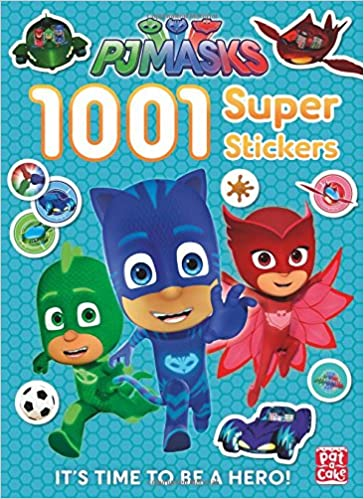 1001 Super Stickers (PJ Masks): PJ Masks Pat-a-Cake: 9781526380425: Amazon.com: Books
