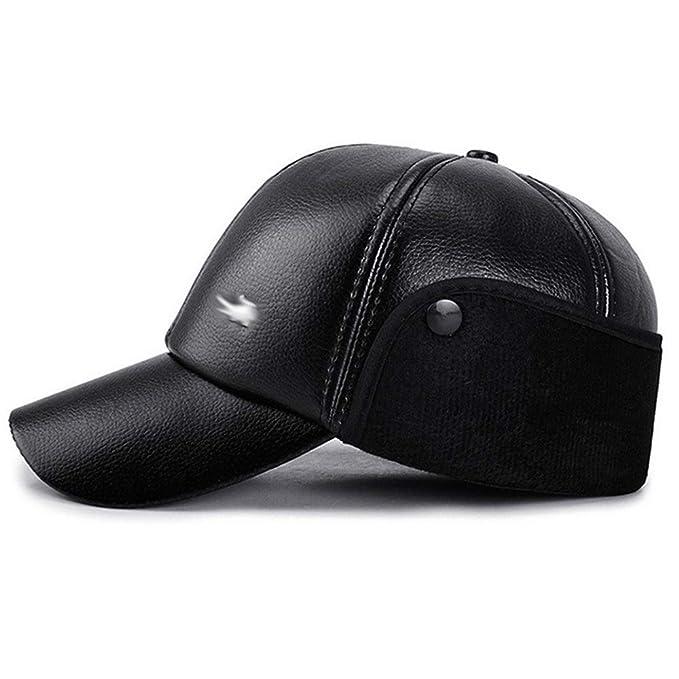 Gorras de plato Hombre Gorra de béisbol de los hombres de piel ...