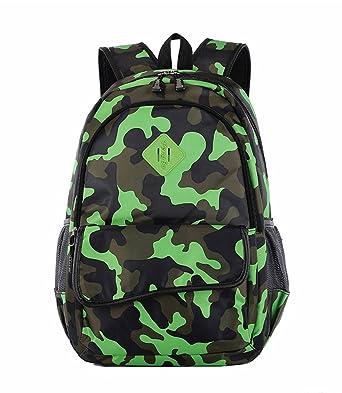 Amazon.com | Mobnau Cool Camo Boys Book Bag