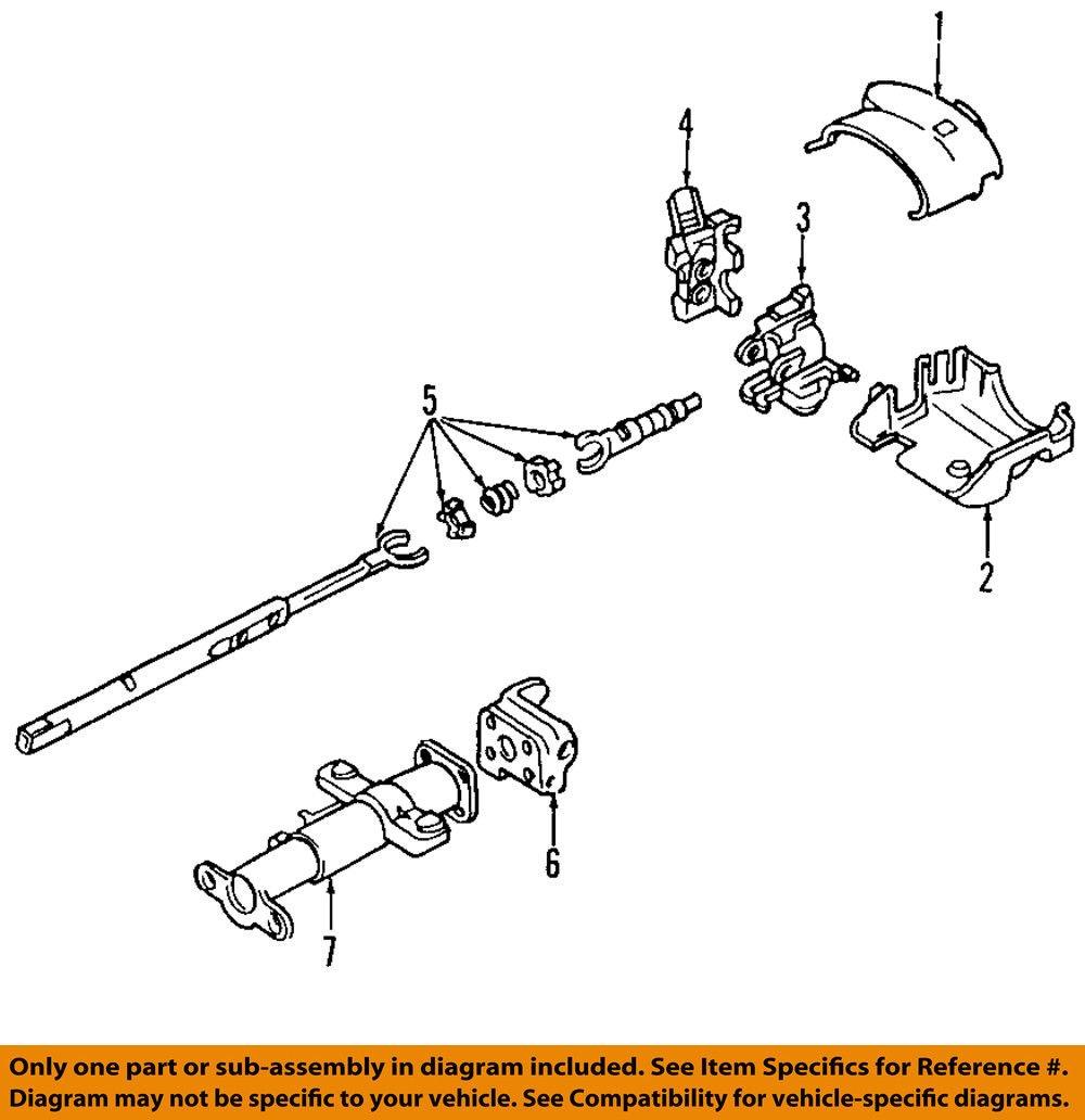 Genuine GM 10376746 Steering Column Shroud