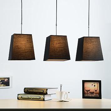 PLLP Lámparas creativas nórdicas, iluminación de ...