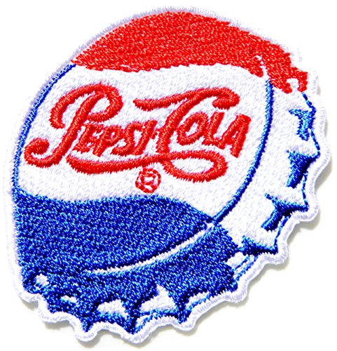 Pepsi Soft Drink Logo Symbol Jacket T Shirt Patch Sew Iron On Embroidered Sign Badge Costume Clothing