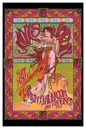 "Bob Masse Poster - Janis Joplin/Live in San Francisco 1967 (24""x36"")"