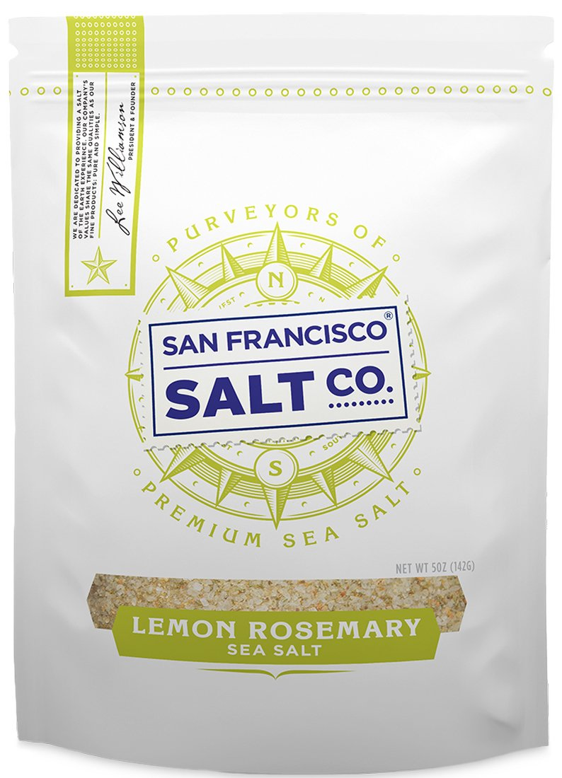 Lemon Rosemary Sea Salt (5 Ounces)