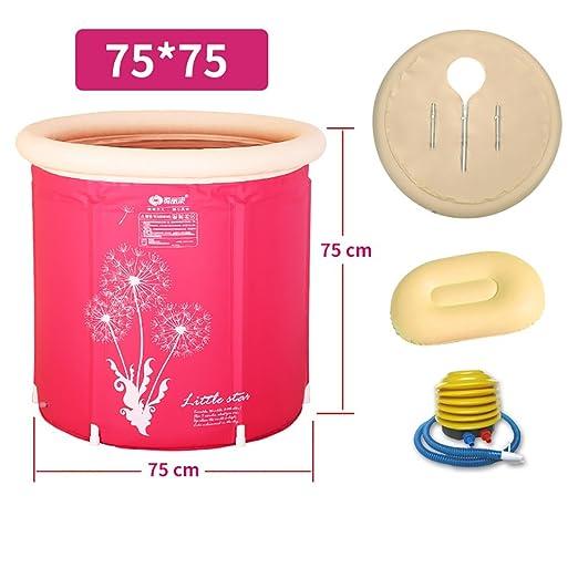 YUGANG Bañera Inflable Bañera para Adultos Bañera de plástico ...