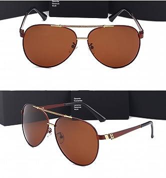 Gafas de Sol Polarizadas Hombre Gafas de Sol Grandes Marco Gafas de Sol Motorista de Alta